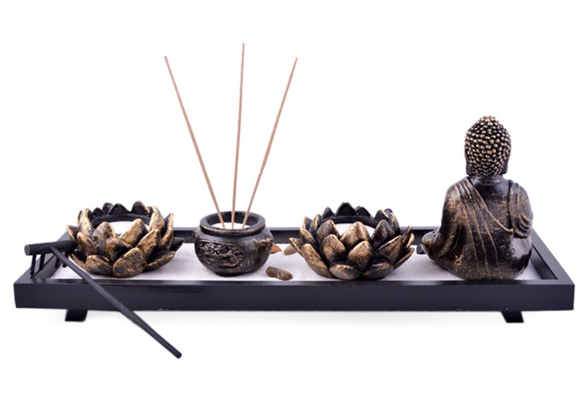feng shui zen sand garden desktop zen garden my zen decor. Black Bedroom Furniture Sets. Home Design Ideas