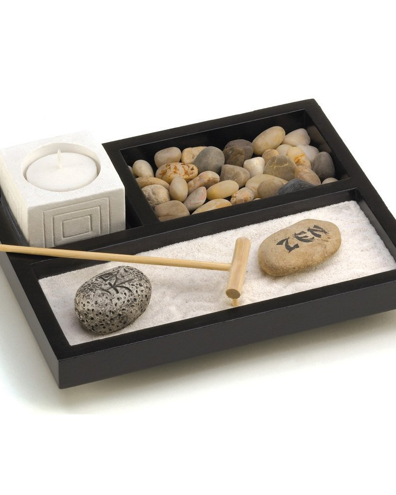 Gifts decor tabletop zen garden my zen decor for Table zen garden